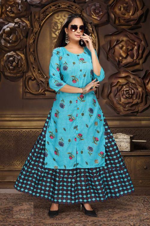 Padma 7 Festive Wear Kurti With Skirt Collection
