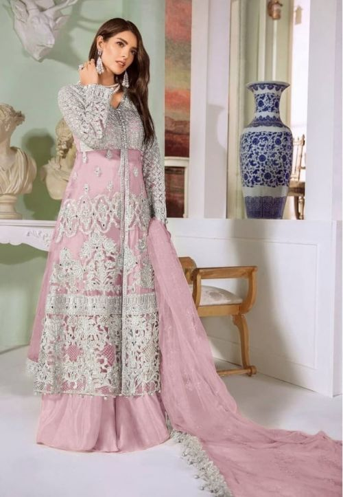 S 8115 Party Wear Embroidery Salwar Kameez