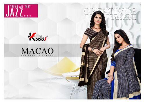 Macro Rennial Uniform Wear Saree Collection