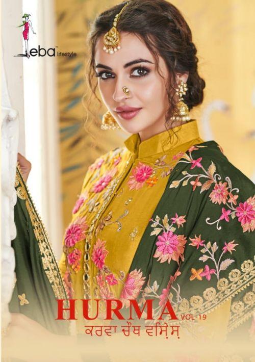 Hurma Vol 19 Designer Pure Viscose Embroidered Salwar Kameez
