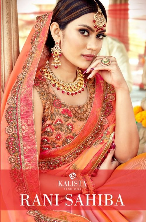 Kalista Rani Sahiba Designer Wedding Saree Collection
