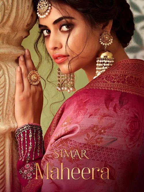 Glossy Maheera Designer Wedding Wear Salwar Suits Collection