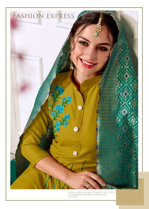RM Panipuri 1006 Banarasi Dress Material
