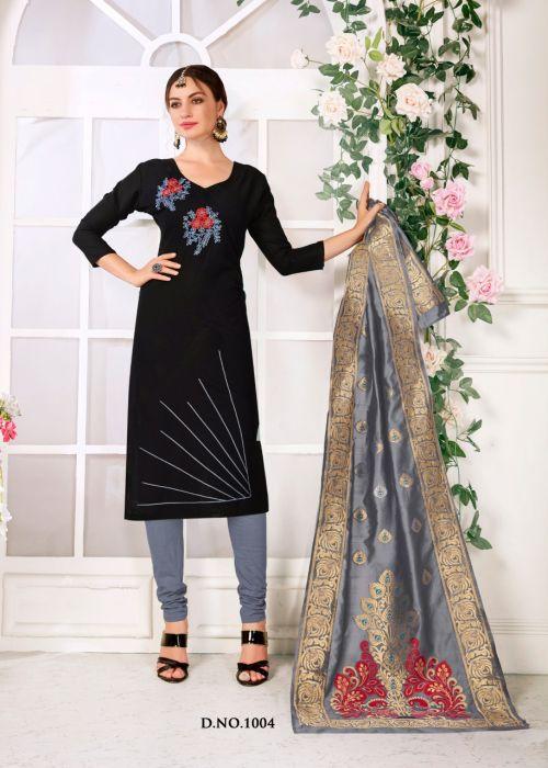 RM Panipuri 1004 Banarasi Dress Material