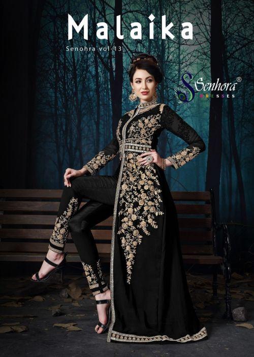 Senhora Malaika 13 Pure Georgette Embroidered Salwar Suits