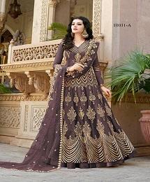Aroos 10031 A Designer Festive Wear Embroidered Salwar Suit