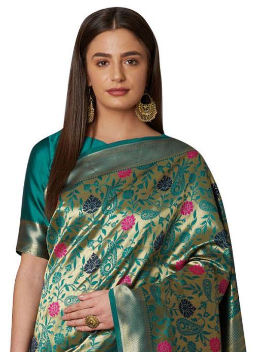 Shravanti Wedding Wear Silk Saree Collection