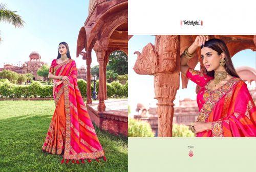 Tathastu 2900 Series Wedding Wear Heavy Silk Saree