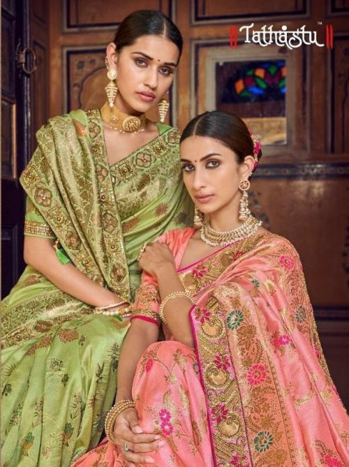 Tathastu 3200 Series Chanderi Silk Exclusive Saree Collection