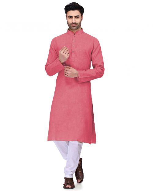 Pinak Mens Kurta 2 Ready Made Cotton Kurta With Pajama