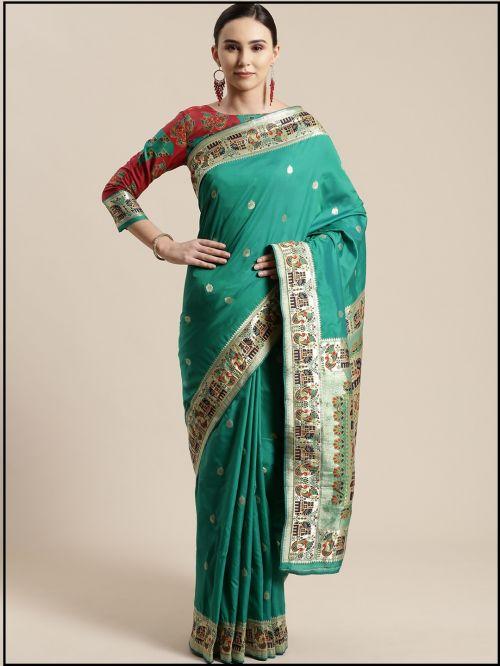 Carnival Wedding Wear Silk Saree Collection
