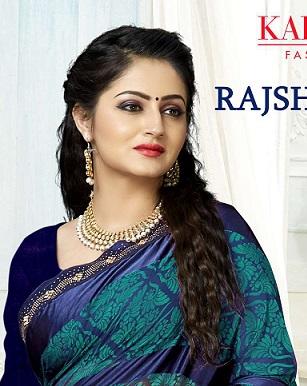 Kalista Rajshree 2 Party Wear Designer Brasso Saree Collection