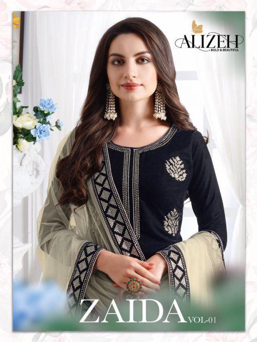 Alizeh Zaida 1 Heavy Georgette Designer Salwar Suits