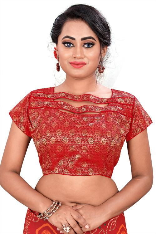 Pikku Designer Blouse 4 Embroidered Blouse Collection