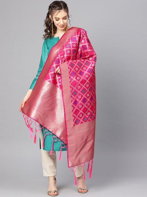 Zarika Hit Design Mixed 2 Banarasi Silk Dupatta