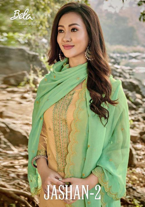 Bela Jashan 2 Designer Cotton Salwar Suits Collection
