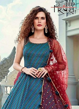 Parmpara 1019 Designer Exclusive Collection Of Long Gown