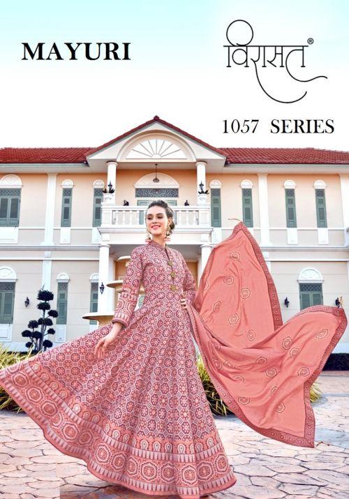Virasat Mayuri Festive Wear Exclusive Gown Collection