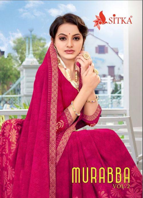 Murabba 2 Weightless Fancy Printed Saree Collection