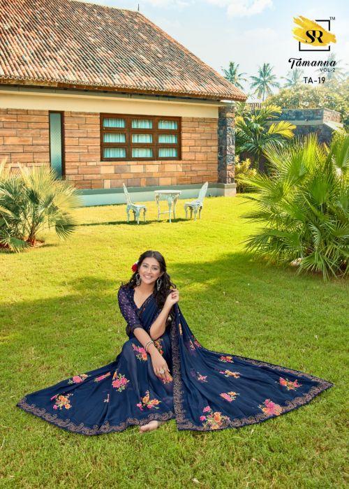 Sr Tamanna 2 Weightless Regular Wear Saree Collection
