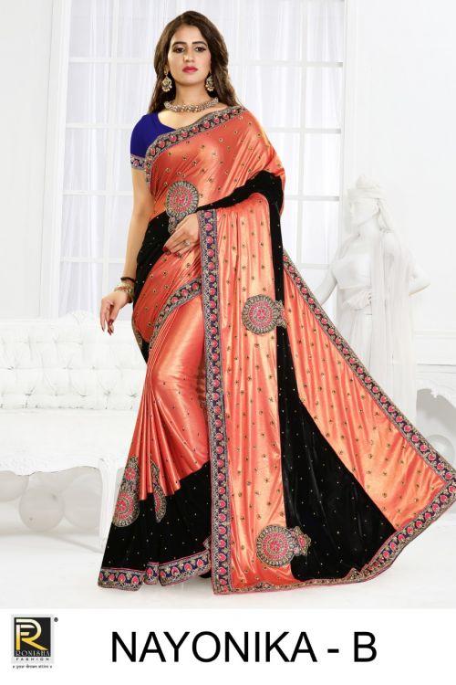Ronisha Nayonika Wedding Saree Collection