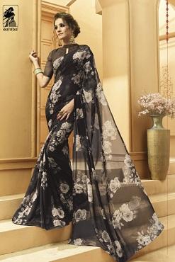 Sahiba Tamnna Ethnic Wear Georgette Saree Collection