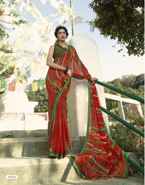 Sanskar Suhanepal 23 Casual Wear Georgette Saree Collection