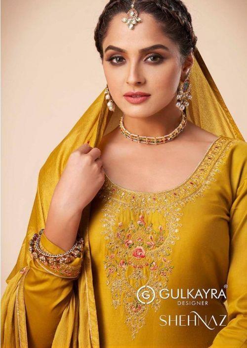 Gulkayra Shehnaaz Churidar Salwar Suit Collection