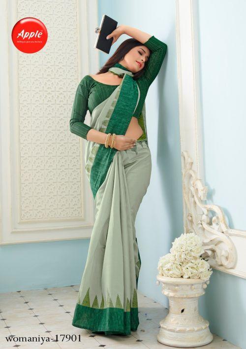 Apple Womaniya 17 Casual Wear Bhagalpuri Silk Saree Collection