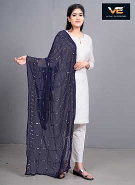 Vilohit Sequence Square Dupatta Collection