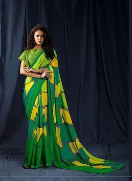 Sanskar Kasak Ethnic Wear Georgette Sarees Collection