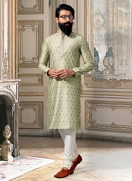 Designer Party Wear Silk Kurta Pajama Collection