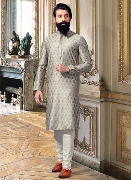 Designer Party Wear 2 Silk Kurta Pajama Collection