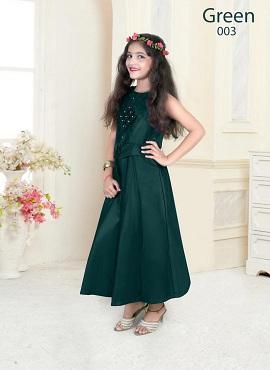 Nidisha Festive Wear Gown Western Kids Clothing Collection