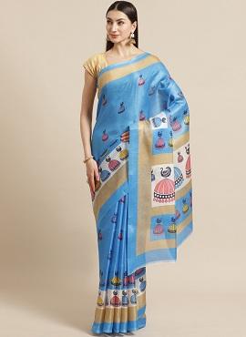 Bhagalpuri 4 Casual Wear Bhagalpuri Silk Sarees Collection