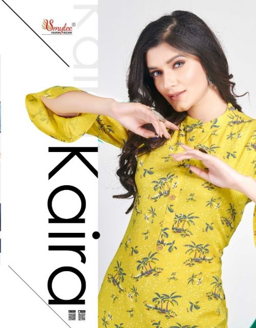 Smylee Kaira Regular Wear Designer Kurtis Collection