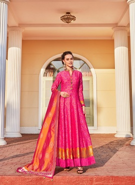 Virasat Sparsh Exclusive Fancy Wear Designer Gown Collection
