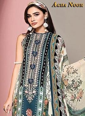 Agha Noor 3 Karachi Dress Materials Collection