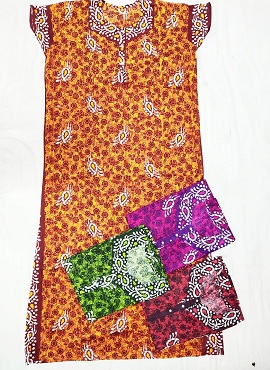 Cotton Nighty 3 Printed Western Nightsuits Collection