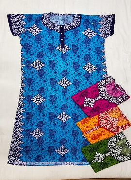 Cotton Nighty 5 Printed Western Nightsuits Collection