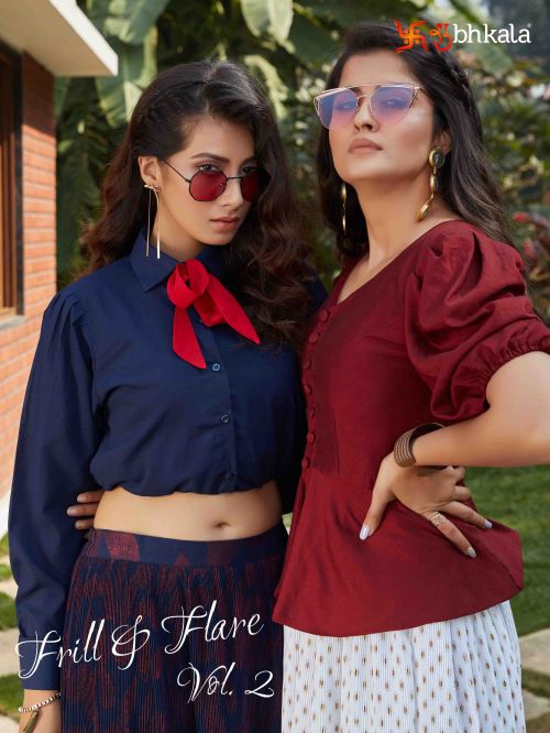 Kf Frill And Flare 2 Exclusive Western Top With Bottom Collection