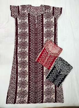 Cotton Nighty 1 Printed Western Nightsuits Collection