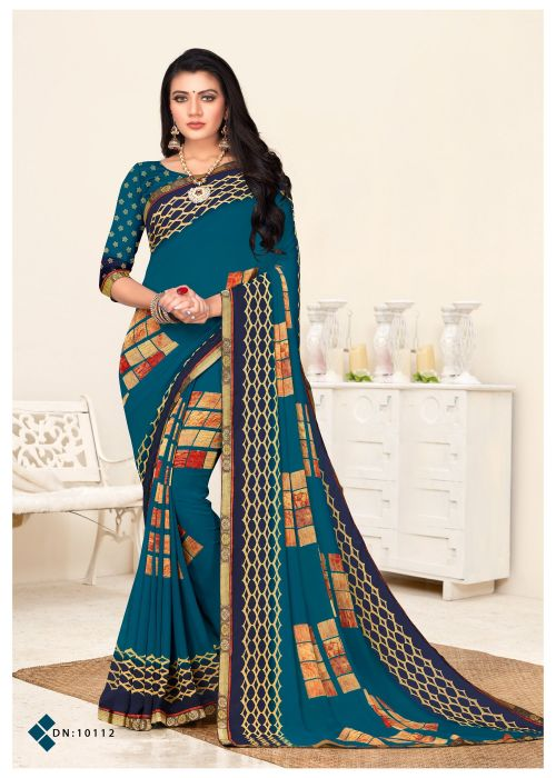 Harni Prerna Regular Wear Georgette Sarees Collection