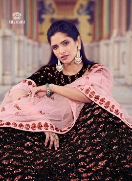 Arya Khwaab 5805 Designer Wedding Wear Lehenga Collection