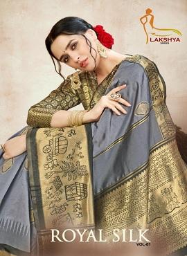 Lakshya Royal Silk 1 Festive Wear Silk Sarees Collection