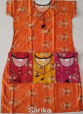 Cotton Nighty 102 Printed Western Nightsuits Collection