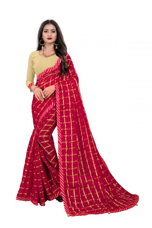 Chirag Sarees 1 Casual Wear Georgette Sarees Collection
