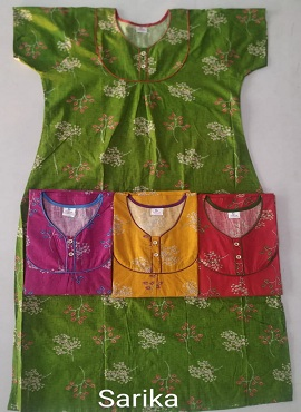 Cotton Nighty 104 Printed Nightsuits Collection