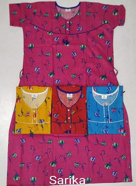 Cotton Nighty 105 Printed Nightsuits Collection