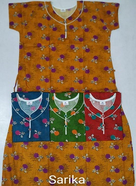 Cotton Nighty 106 Printed Nightsuits Collection